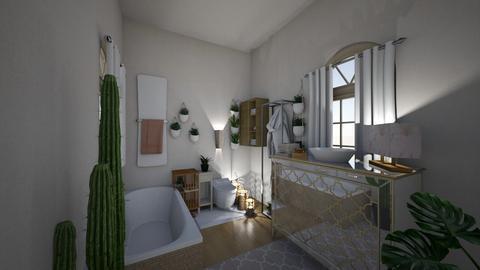 plant lover  - Feminine - Bathroom  - by floofus