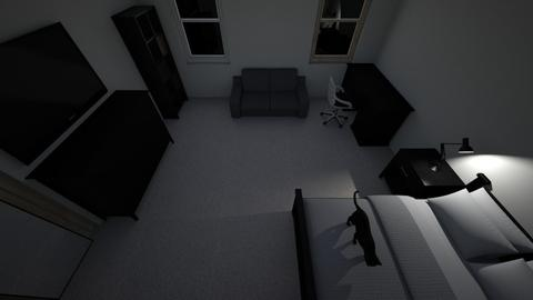 bedroom - Minimal - Bedroom  - by alanrizzuti