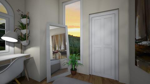 Bedroom - Minimal - Bedroom - by heddaa_