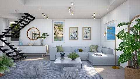 M_ Myrna - Modern - Living room  - by milyca8