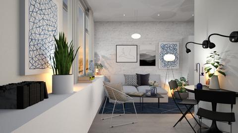Oslo - Living room - by zarky
