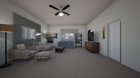 Corner Apartment 02 - Living room  - by mspence03