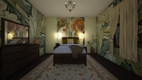 Art Nouveau - Bedroom  - by ttiavlc
