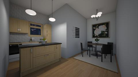 Kitchen Apartment  - Modern - Kitchen  - by BaylorBear