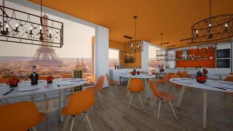 Orange restaurant - Modern - by Agamanta