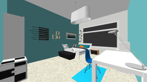 Fionna Room - Retro - Bedroom - by Kianna22