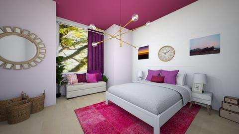pink fantay - Bedroom  - by Tahsina Islam