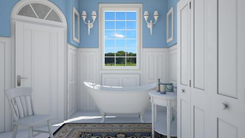 peaceful - Bathroom  - by Ni NI