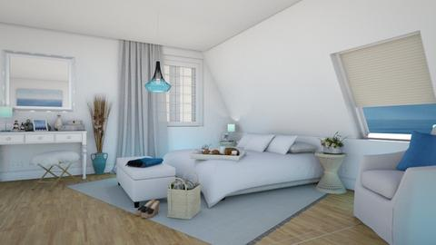 Mary in the Attic - Modern - Bedroom - by Claudia Correia