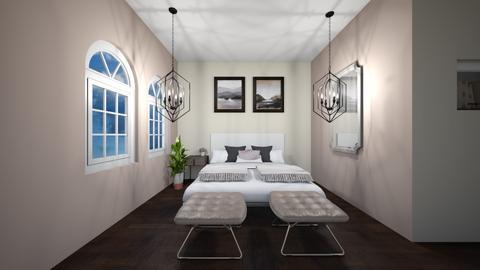 modern pink - Bedroom - by Muneesssssss