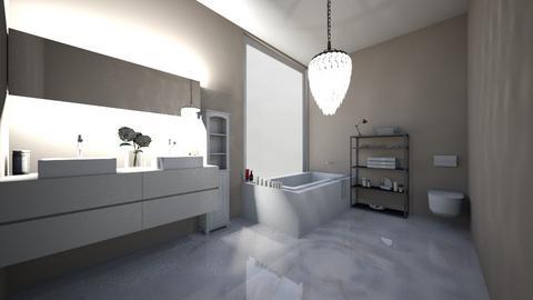 in progress - Modern - Bathroom  - by ILoveHome3214