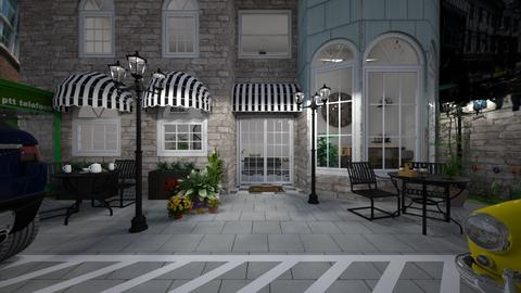 coffee shop - Classic - Garden  - by Sloth1234