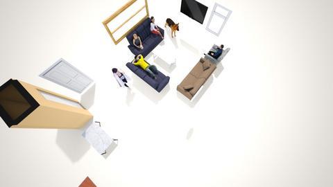 plan1 - Living room  - by AlexandMackenzie