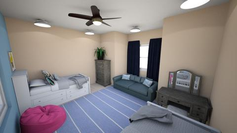 Room for Two Kids - Kids room  - by ccc5231c