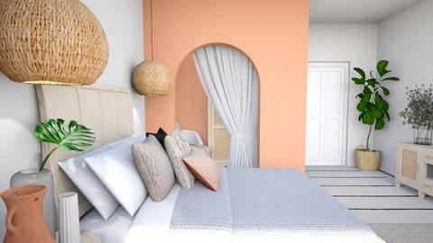 ORGANIC HOUSE P10 BEDROOM - Bedroom  - by aestheticXdesigns