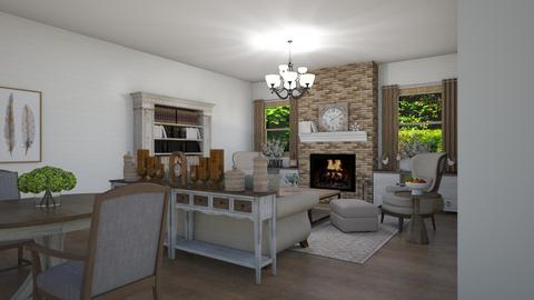 Elder care space - Rustic - Living room  - by milica tanurdzic