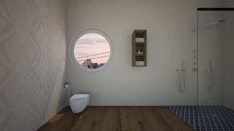 neutral bathroom - Bathroom  - by the mysterieuse ms f