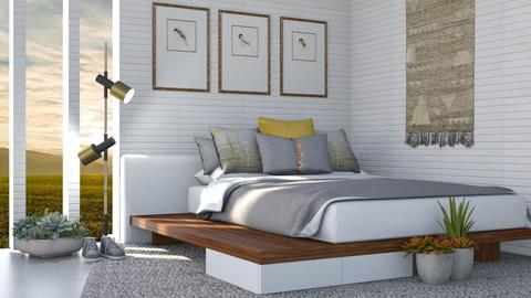 Gold - Modern - Bedroom  - by Isaacarchitect