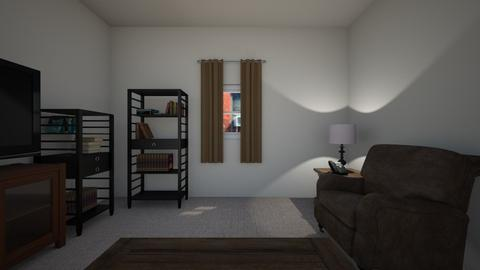 Small Urban Apartment - Living room  - by mspence03