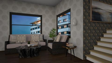 big windows contest - Living room  - by AnxhelaN