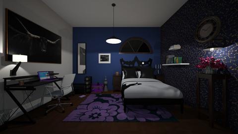 dark and magical - Bedroom  - by miyaley8