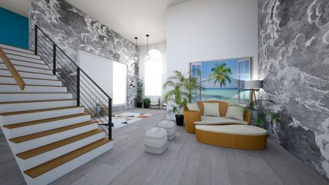 beach living room - Living room  - by Wensday
