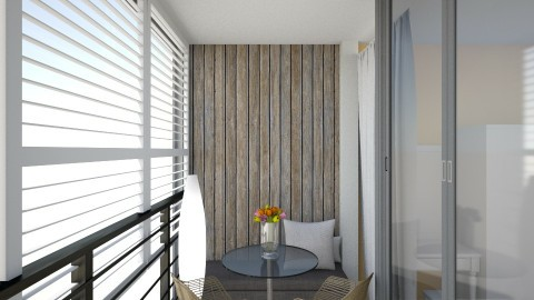 room 5 - Modern - Garden  - by Allamaria