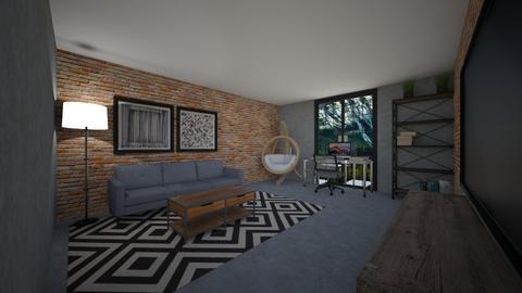 Casual Living Room - Living room  - by Tanem Kutlu