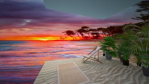 The wonderful beach - by FANGIRLdesigner