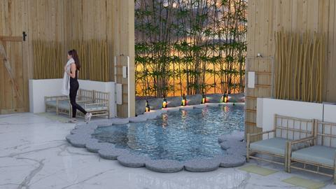 Bamboo lounge - Modern - Garden  - by BohoCHicc