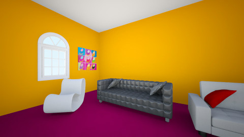 Desiree's living room - Glamour - Living room - by onyxsterling32