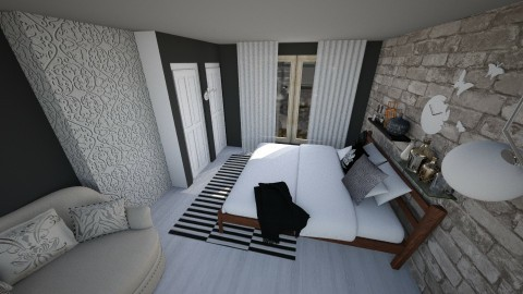 Bedroom redesign - Modern - Bedroom - by martina1999
