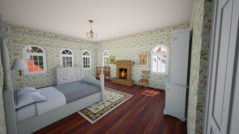 colonial bedroom - Classic - Bedroom  - by laughterlines
