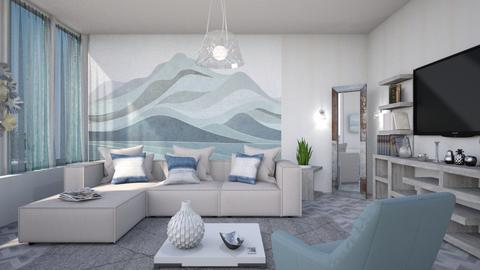 M_ Wallmural - Living room - by milyca8