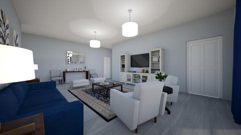 Unit 3 LR - Living room - by ElianeInteriors