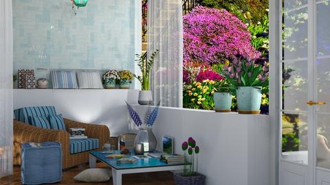 patio - Garden  - by nat mi