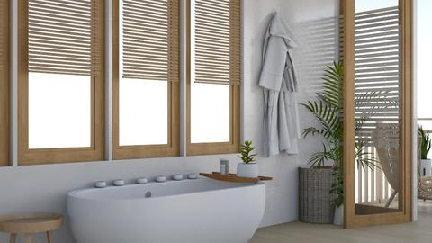 natrue bathroom - Country - Bathroom  - by preeyanat