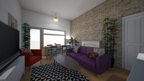 5 Scotia De Vesci Court - Living room  - by idontdobeige