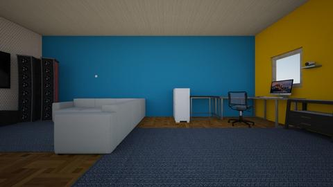 study space - Office  - by Evan House