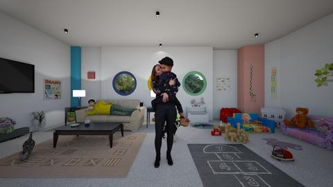 Playful Room - Modern - Kids room  - by Irishrose58