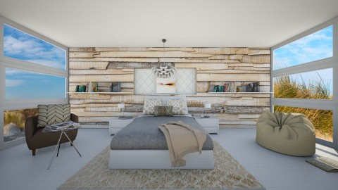 Dutch Dunes 2 - Modern - Bedroom  - by bgref