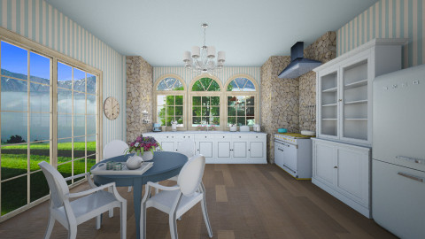 dream kitchen 2 - Country - Kitchen  - by nuray kalkan