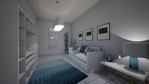 ocean - Living room - by bramie2020