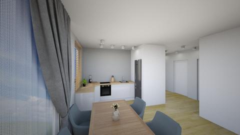 Kuchnia 4b - Living room - by KatarzynaLaszczyk
