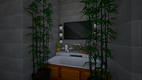 Urban Jungle Bathroom  - Bathroom  - by Hamilton99