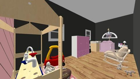 Emily Machado Nursery - Kids room  - by kathleengriffin