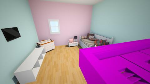 Caitlyns room - Vintage - Kids room - by Caitlyn Larsen