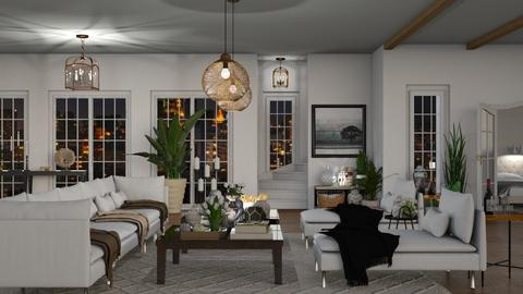 modern living room remix1 - Living room  - by mikaelahs