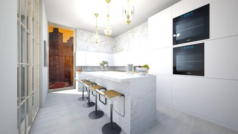 Posh - Kitchen  - by MissArchitect