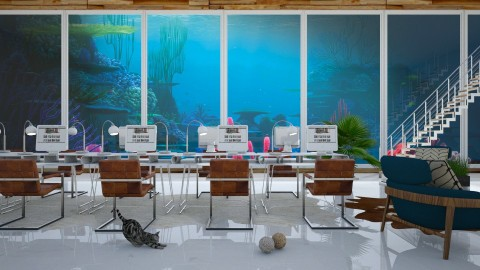 Underwater office - Modern - Office  - by bgref